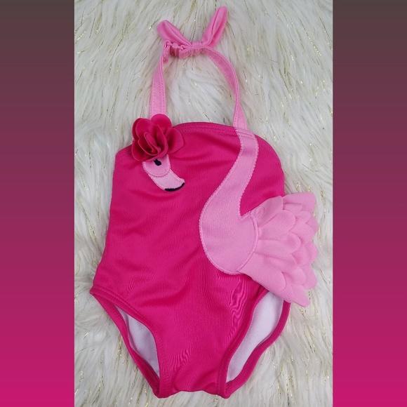 fc8907735a Gymboree Baby Girls Flamingo One Piece Swimsuit
